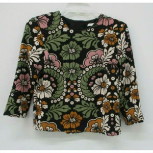 H&M Womens Floral Top Size 4